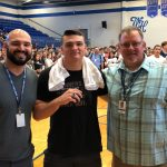 Wrestling: Ethan Rainey presented State Championship Ring