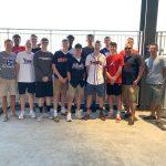 Basketball: Team building at SunTrust Park