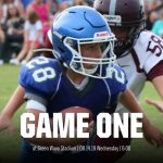 Football: Middle School game at Shafer moved to Wednesday