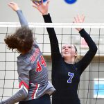 Connection: Jo Byrns volleyball beats White House, 3-1