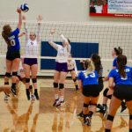 Volleyball: Devils hang tough but fall to state champs