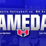 Gameday: WH Heritage Volleyball at White House, 5 pm
