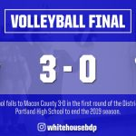 Volleyball: Macon County ends Lady Devils season in districts
