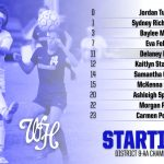 Soccer: Starting Lineup vs. WH Heritage 7 pm