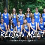 Cross Country at State Qualifier on Thursday