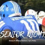 Football: Senior Night vs. Montgomery Central