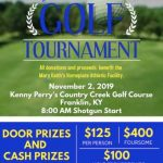 Softball: Golf Tournament fundraiser Saturday at 10 am (new time)