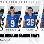 Football: Final Regular Season Stats