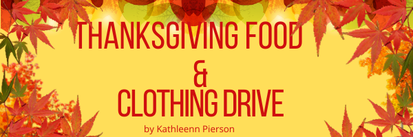 WHHS sponsoring a Thanksgiving clothing and food drive