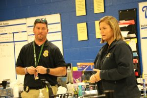 Photos: TBI Crime Lab visits Ms. Lasher's class