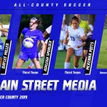 Soccer: Miller, Spurlock and Potts sisters named All-County