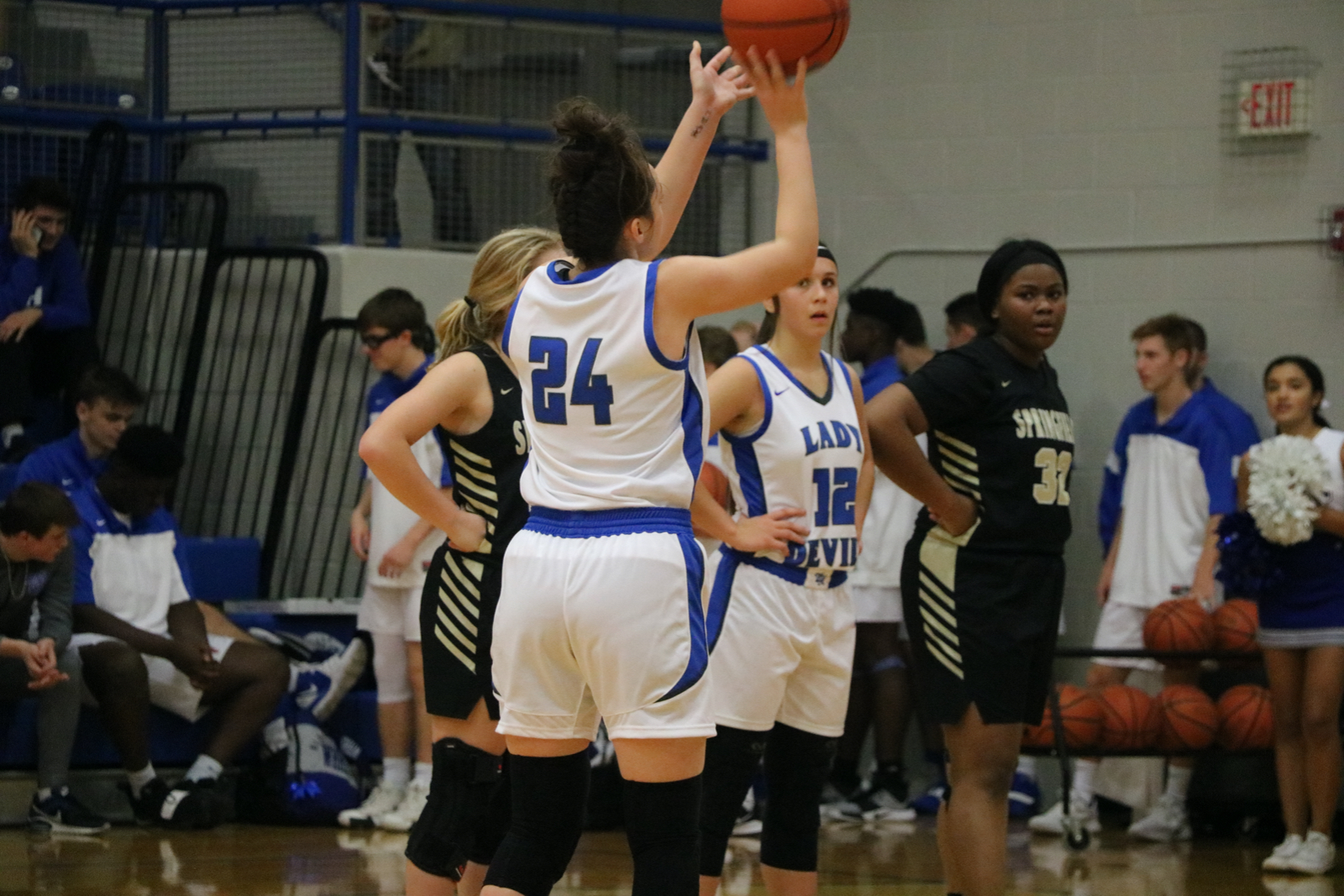 Basketball: Lady Devils clutch down the stretch over Springfield