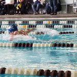 Swimming: Myers qualifies for regionals and several hit personal bests