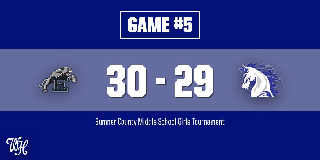SCMST Girls: Ellis 30, Knox Doss 29 (Final)