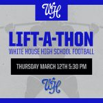 Football: The Lift-A-Thon is Coming. Click here to donate!