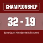 SCMST Girls: Station Camp 32, Ellis 19 (Final)