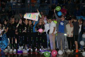 Photos: Black Light Pep Rally