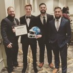 Football: Webster honored at NFF Banquet