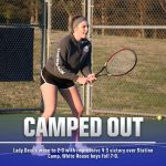 Tennis: Lady Devils edge Station Camp