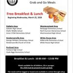 Food Pick-Up Instructions Starting Wednesday at WHHS