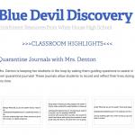 Blue Devil Discovery: Newsletter #3