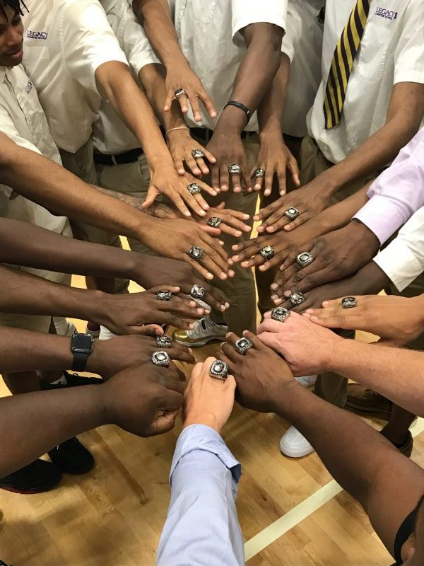 Boys' National Team Receive National Championship Rings
