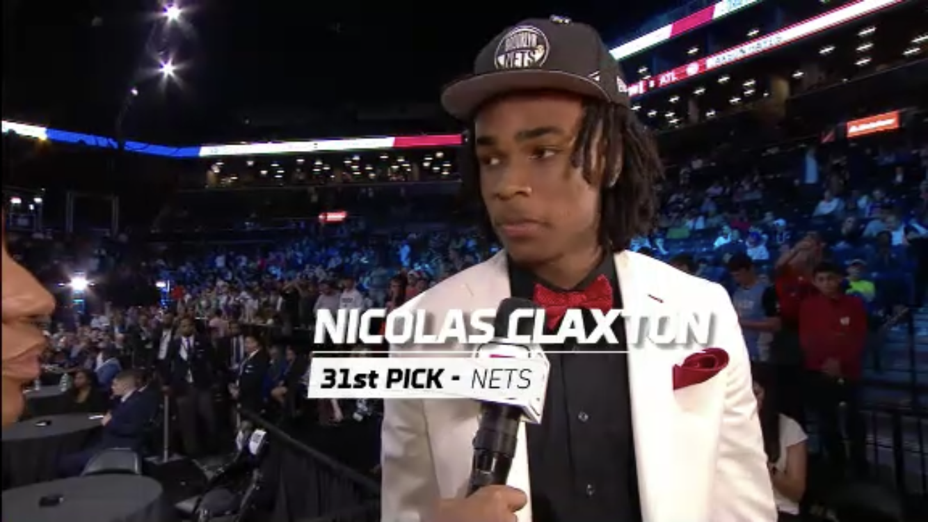 Nic Claxton chosen 31st overall by Brooklyn Nets