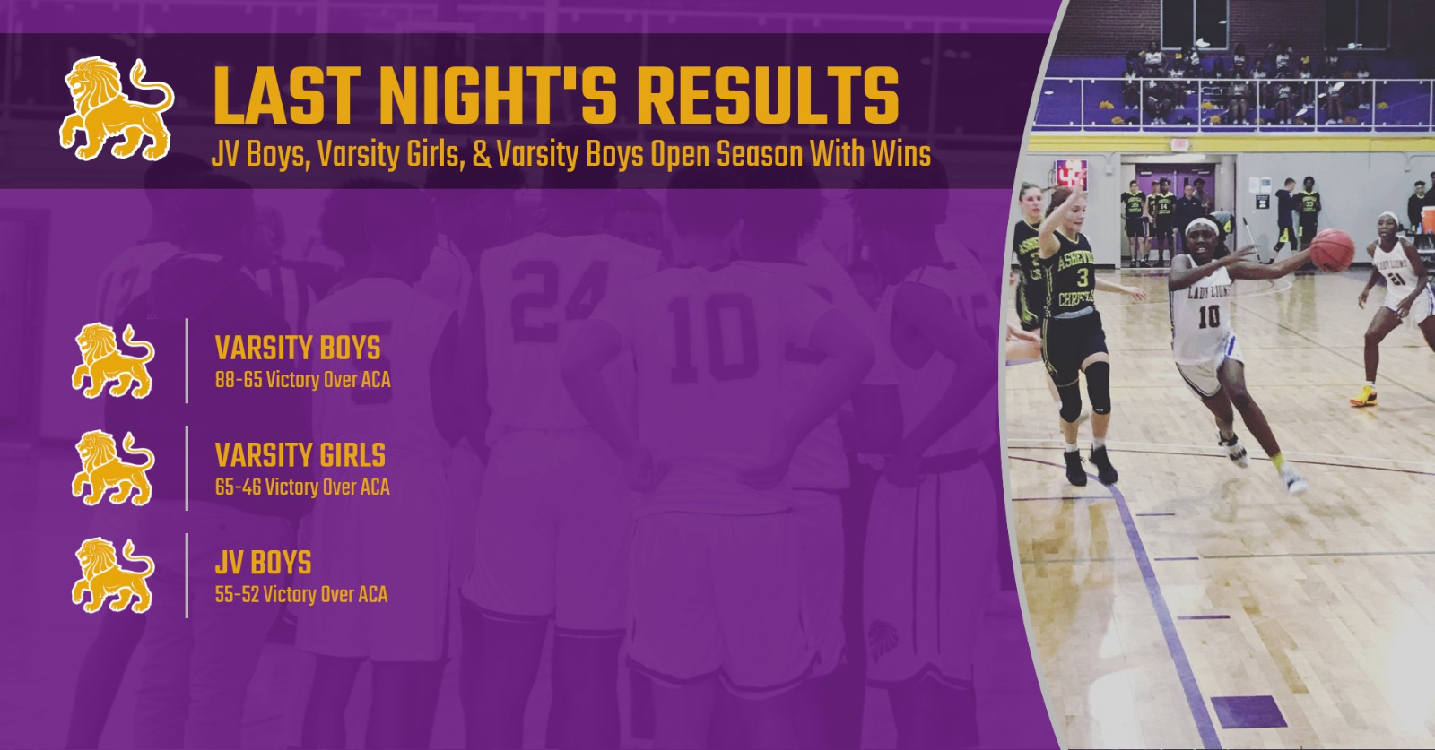 LEC Winter Sports Open Season with 3 Victories