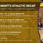 12/9 Athletic Recap