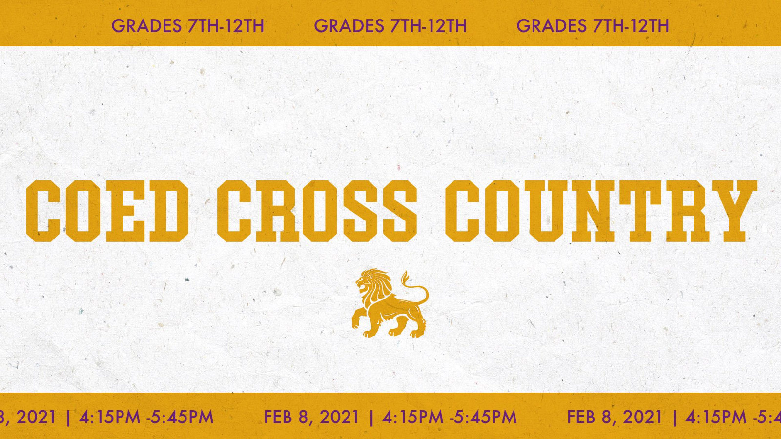 COED Cross Country Try-outs Scheduled