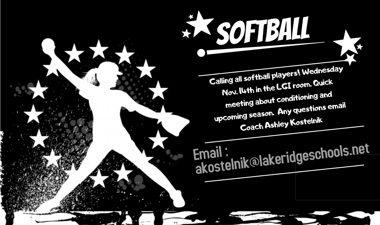 Softball Call Out