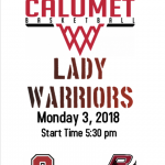 Lady Warriors First Home Game of the Season