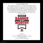Boys Basketball Banner Unveiling