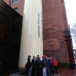 CHS Wrestlers visit the Falls of the Ohio & Louisville Slugger Museum.