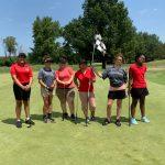 Calumet New Tech High School Girl's Golf First Invite Photos