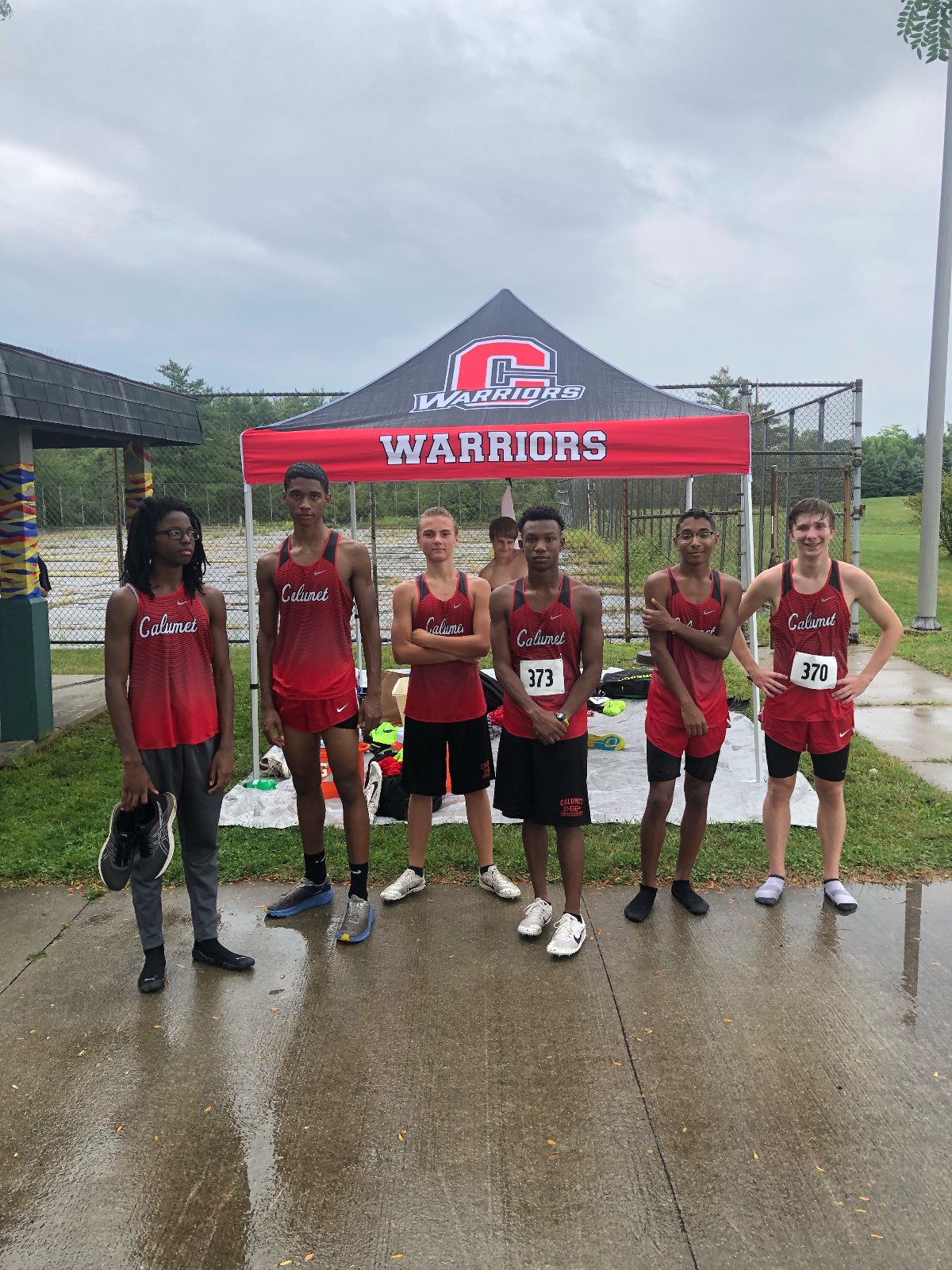 Boys Cross Country Team placed 6th at Crown Point Invite
