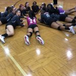 Lady Warriors beat Hammond High 3 sets to 0.