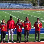 Boys Cross Country Finishes 4th at the Highland Sectional