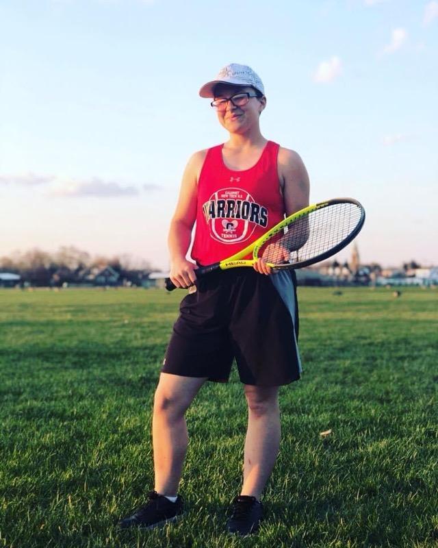 Senior Spotlight  Girls Tennis
