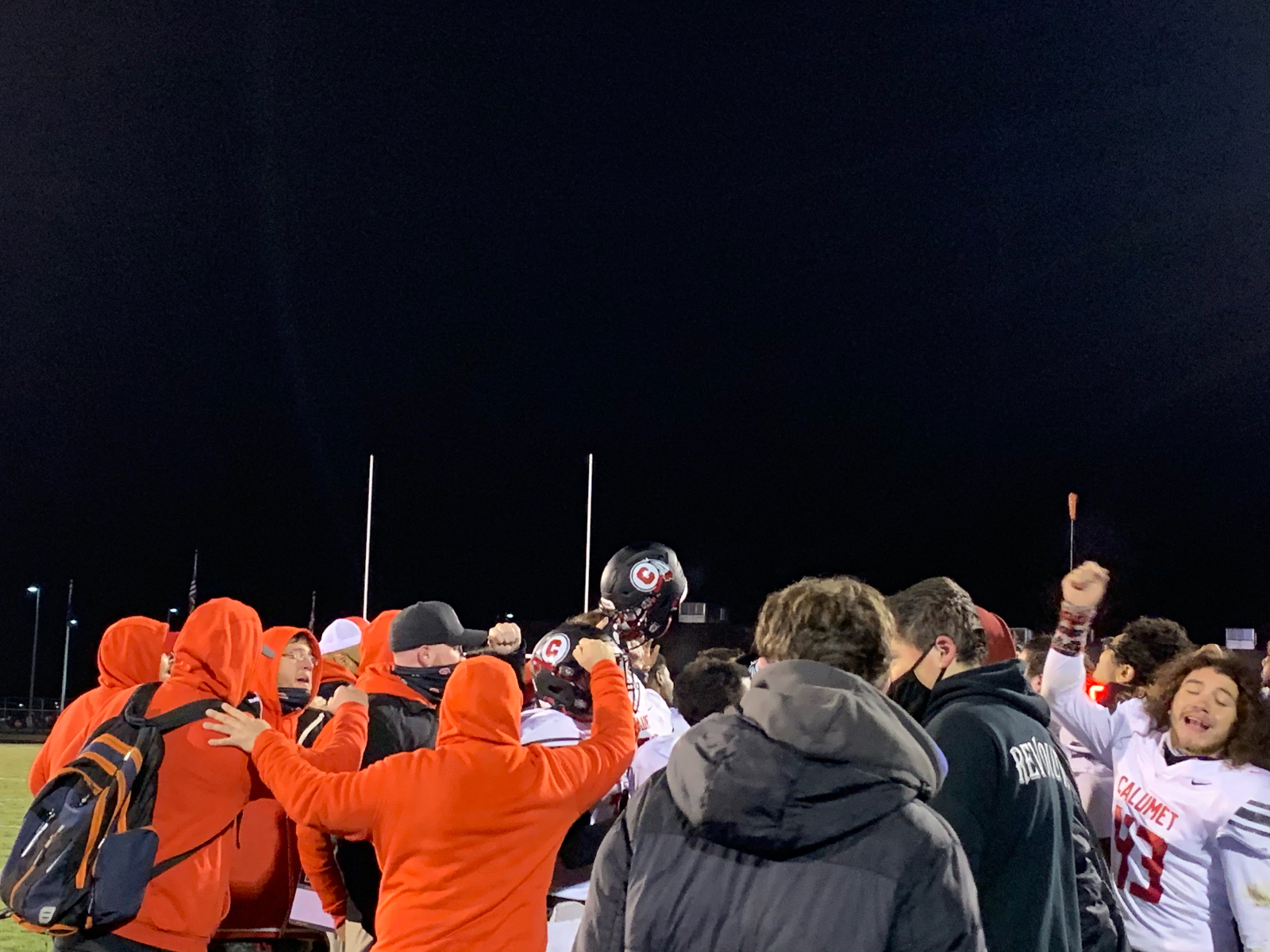 Warriors defeat Knox in Sectional Play 🏈
