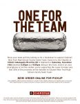 VARSITY SWIM TEAM CHIPOTLE FUNDRAISER