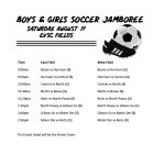 Boys and Girls Soccer Jamboree