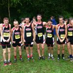 Boys Cross team records best outing of the year