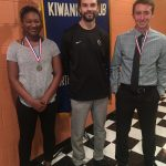 Kiwanis award winner