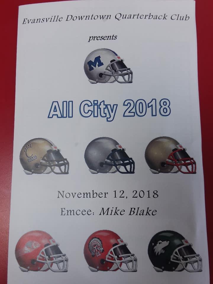 Evansville Downtown Quarterback Club All City