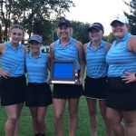 Girls' Golf Crowned NECC Champions