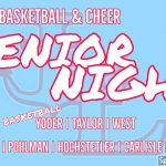 Boys Basketball and Cheer Senior Night | February 28th