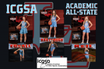 Three Lakers Named ICGSA Academic All-State