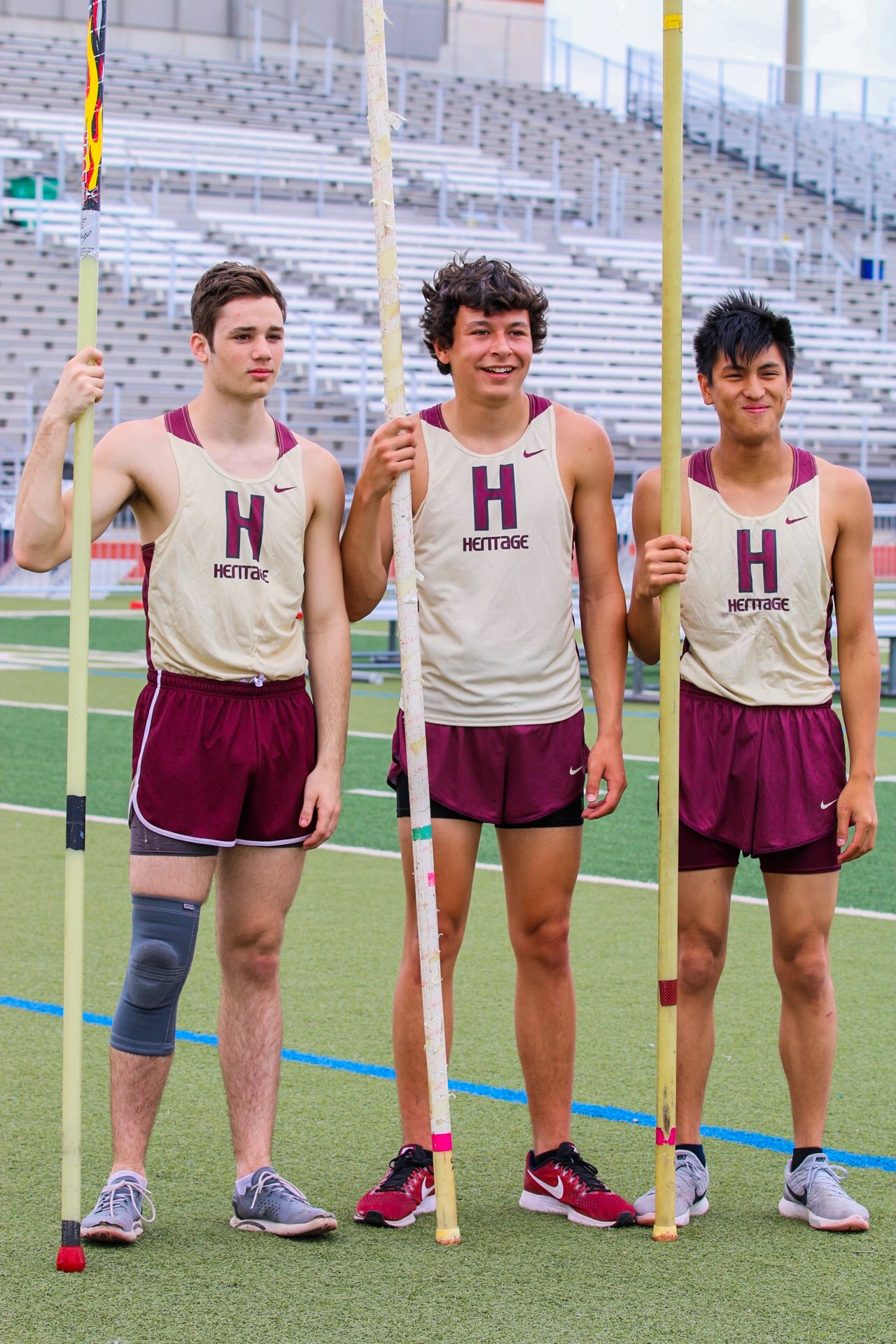 Heritage Track DOMINATES Day 1 of District