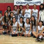 JV Girls Basketball Wins Ayala Tournament